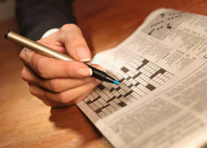 Yes, even the crossword puzzle can help job searchers